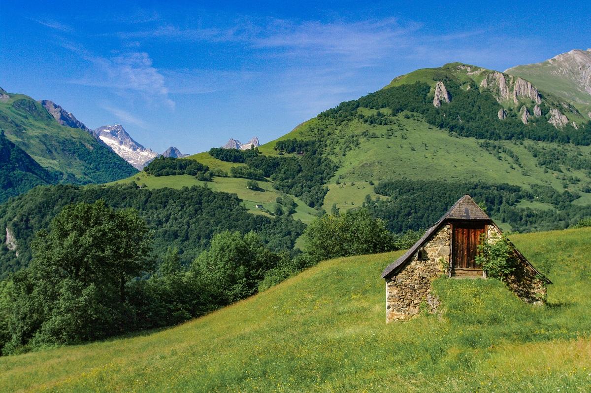 """Rando """"De Sireix à Arrens-Marsous, par le village de Bun"""" © Vincent Fonvieille"""
